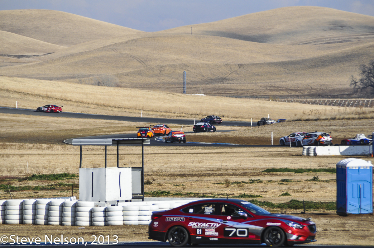 Coming and Going. While the nearly 3-mile circuit expands over several sets of hills there are also several locations where different sections are in close view. Links allow for various shorter course configurations. The Mazda was one of two Mazdaspeed run cars staffed by drivers representing their national dealer network. If finished second among the three stock 6 diesels.