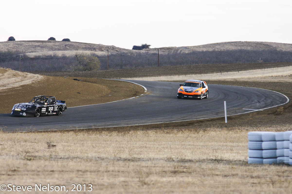 Frankenbimmer.  For those tired of look-alike GT3 race grids, come to Thunderhill. Only here will you see weird things such as BMW based car built over the Thanksgiving day weekend. Yes, the homely Acura ran better.