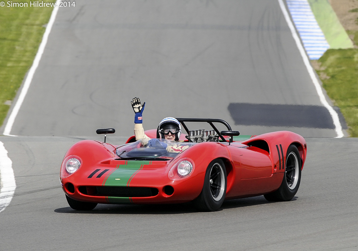 Donington Historic Festival 2014 Picture by: Simon Hildrew