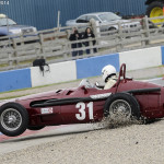 Donington Historic Festival 2014Picture by: Simon Hildrew