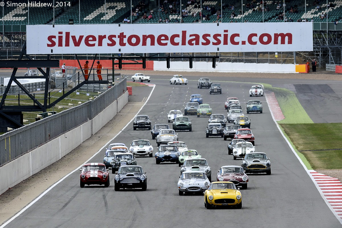 Silverstone Classic 2014 Picture by: Simon Hildrew www.simonhildrew.com