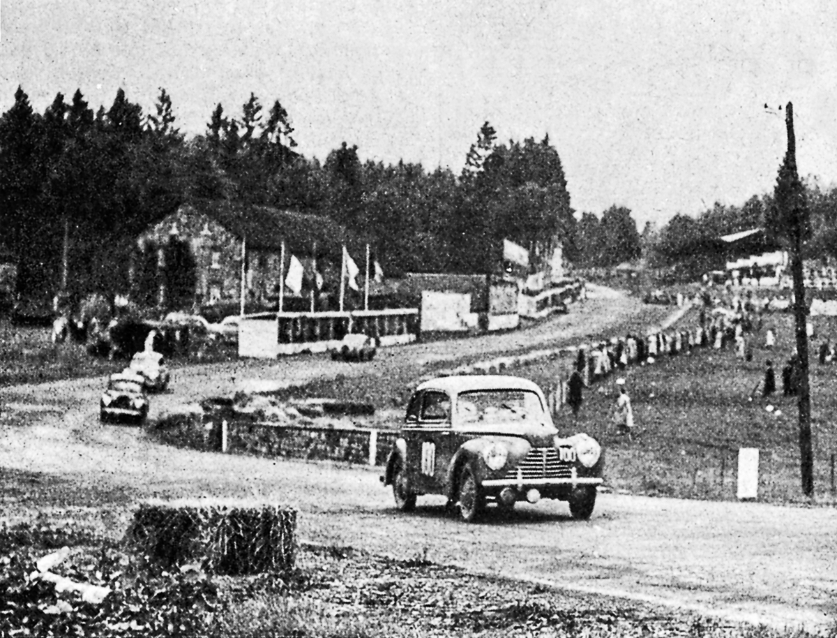 One of the successful Škodas at Eau Rouge in 1948. (Chpt 6)