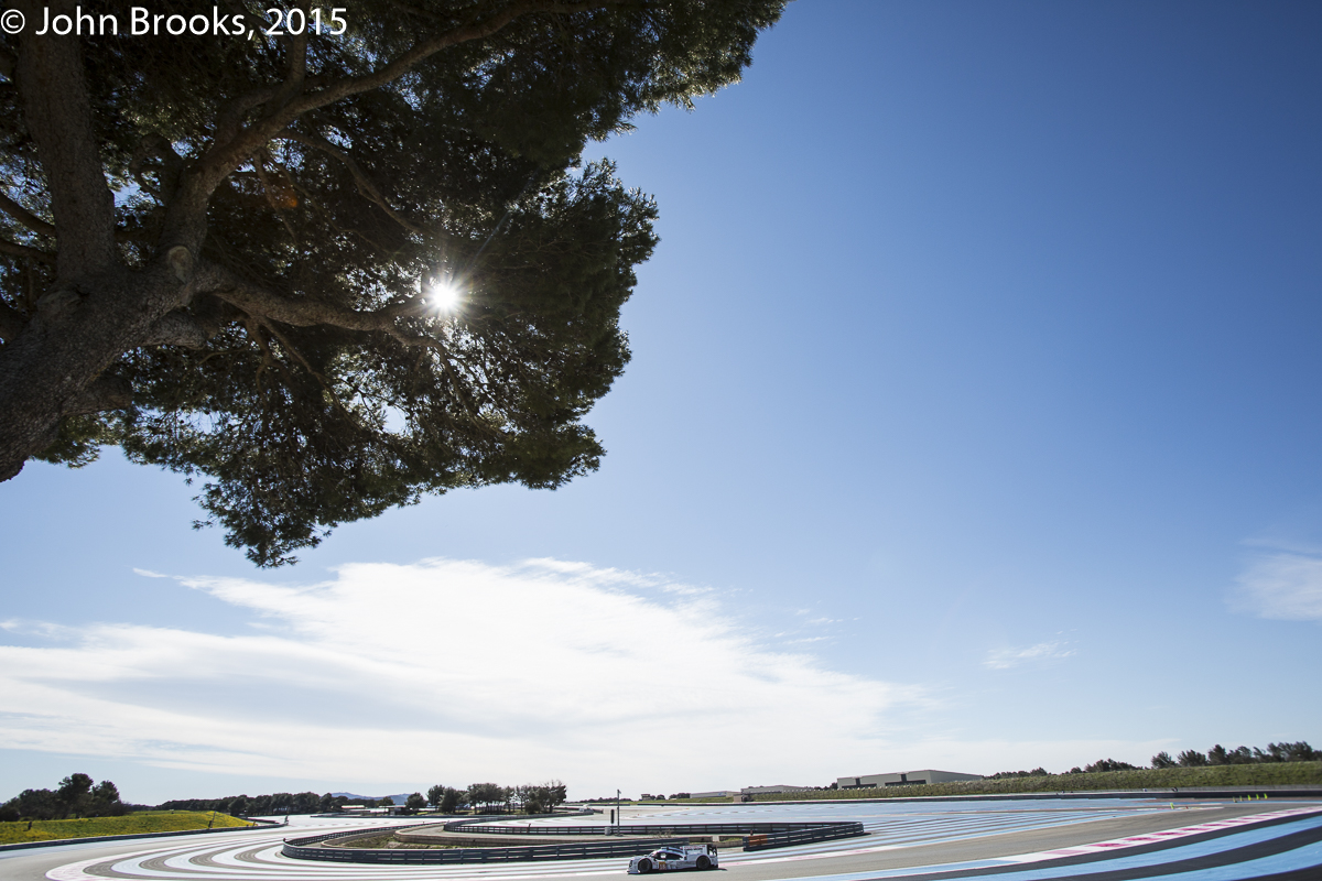 2015 FIA WEC Ricard Test