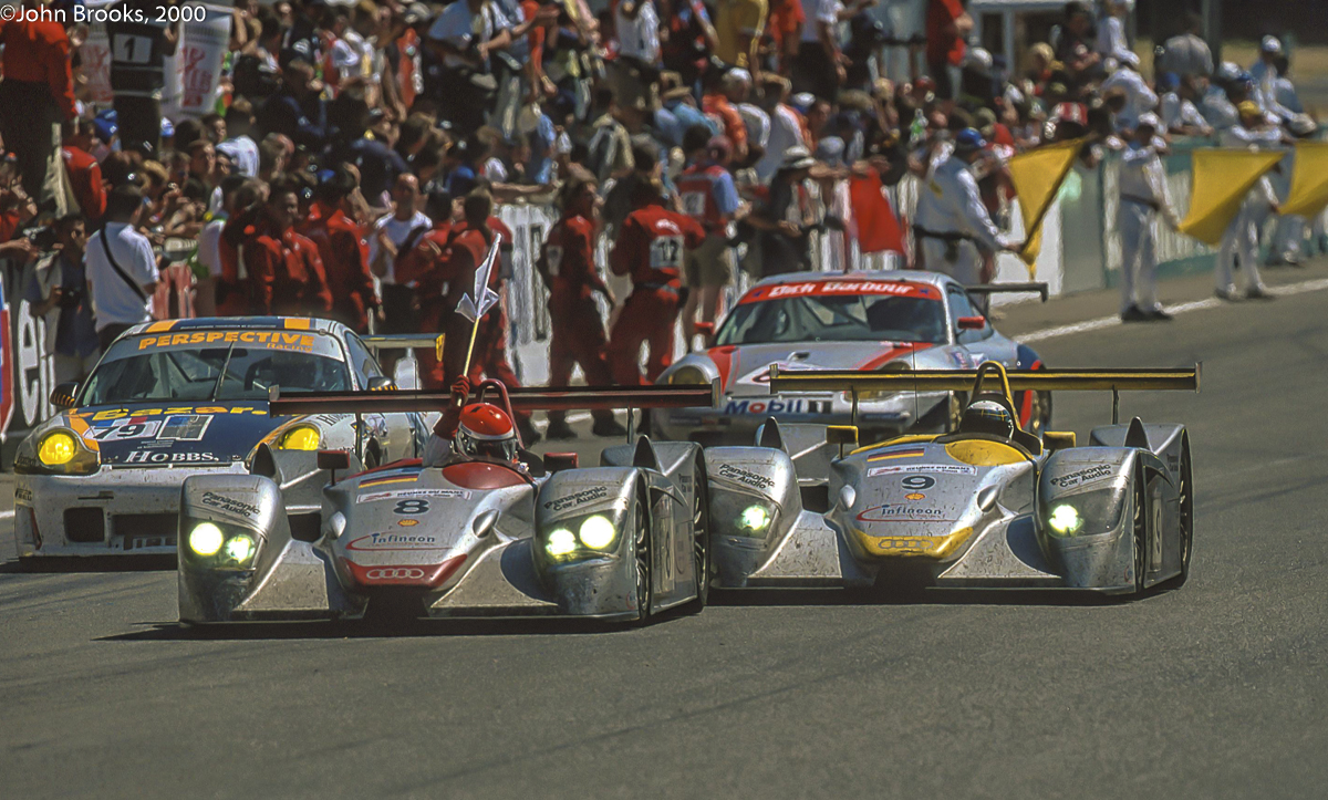 c79c3e88e2c The 2000 24 Hours of Le Mans was the first chapter in the best seller that  became Audi s story at La Sarthe